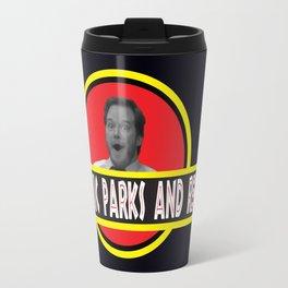 Jurassic Parks And Rec Travel Mug