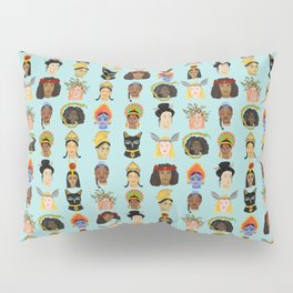 Goddesses Around the World Pillow Sham