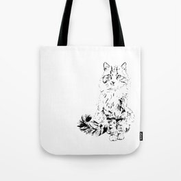 The Unimpressed Tabby Tote Bag