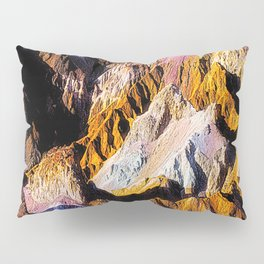Artist Palette in California's Death Valley National Park. Pillow Sham