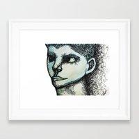 avatar Framed Art Prints featuring Avatar by MelPetrinack