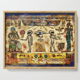 Ancient Aliens Serving Tray