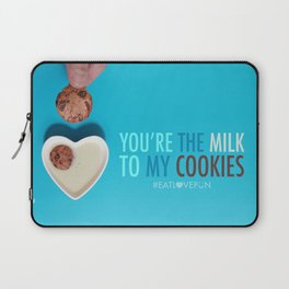 You're the Milk to My Cookies Laptop Sleeve