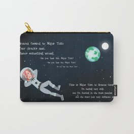 Bowie - Goodbye Major Tom Carry-All Pouch