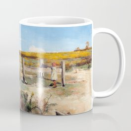 Arthur Streeton - Early Summer, Gorse In Bloom - Digital Remastered Edition Coffee Mug