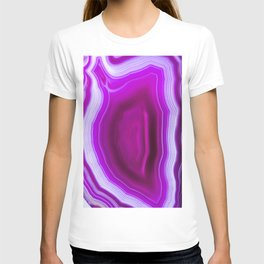 Pink agate Geode T-shirt