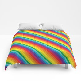 Rainbow Stripe Comforters