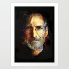 Steve Jobs Art Print