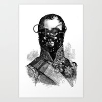 bdsm Art Prints featuring BDSM XXVII by DIVIDUS