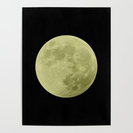 CANARY MOON // BLACK SKY Poster