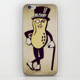 Mr. Peanut iPhone Skin