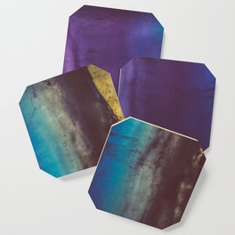 Bohemian Blue Earth Coaster