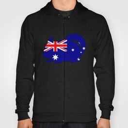 Australian Flag - Chinchilla Hoody