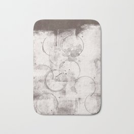 Coffee brown and cofee stain s10 Bath Mat