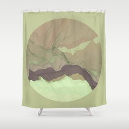 TOPOGRAPHY 003 Shower Curtain