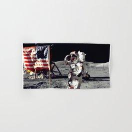 Salute on the Moon Hand & Bath Towel