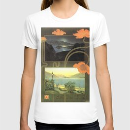 Vintage poster - Lago di Como T-shirt