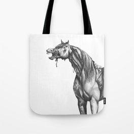 Equine Quietus: The Zombie Horse Tote Bag
