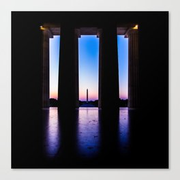 The View From Abe's Window Canvas Print
