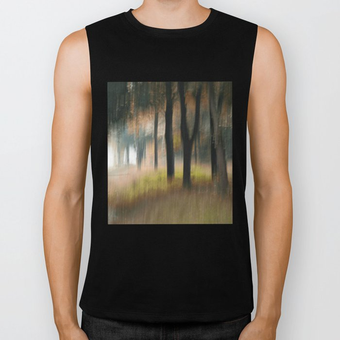Autumn whispering painted with the camera Biker Tank
