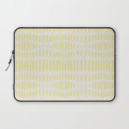 Yellow Wavelengths Laptop Sleeve