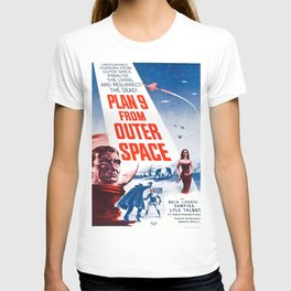 Vintage poster - Plan 9 from Outer Space T-shirt