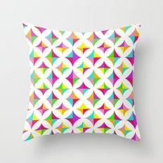 Colour Block 2 Throw Pillow