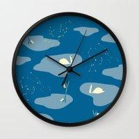 mythology Wall Clocks featuring Mythology by ravynka