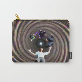 Through the Wormhole Toward the Light Carry-All Pouch