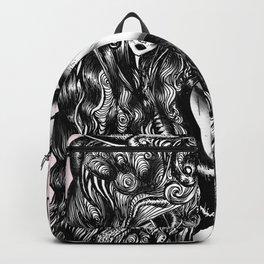 Baroque Head Backpack