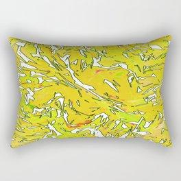 FlakyYellow Rectangular Pillow