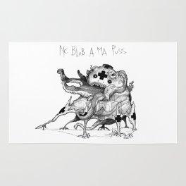 Mc Blob a ma Puss Rug