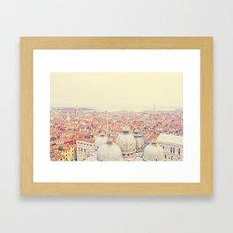 Remembering Venice Framed Art Print