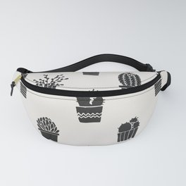 Southwestern Stamped Potted Cactus + Succulents Fanny Pack