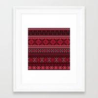 greek Framed Art Prints featuring GREEK pattern by ''CVogiatzi.