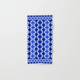 indigo shibori print Hand & Bath Towel