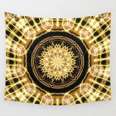 GlaMANDALA | Mandala Glamour Wall Tapestry
