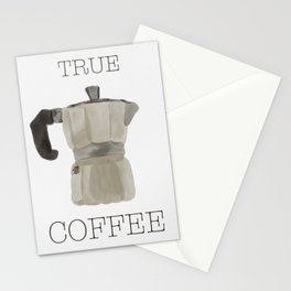 True Coffee Stationery Cards