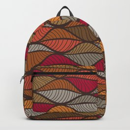 Sea of Autum Leaves Backpack