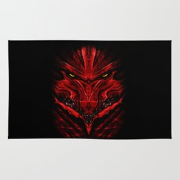 Red Wurm Rug
