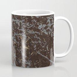 Crystallized gold stone texture Coffee Mug