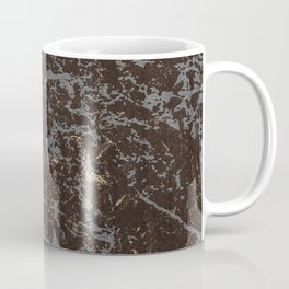 Crystallized gold stone texture Coffee Mug
