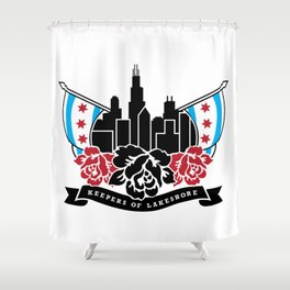 Keepers of Lakeshore Shower Curtain