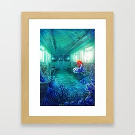 Reflected Memory Framed Art Print