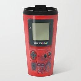 Classic retro transparent Dark red game watch iPhone 4 5 6 7 8, tshirt, mugs and pillow case Travel Mug