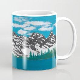 Banff Lake View Coffee Mug