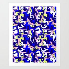 Twisted minds Art Print