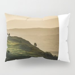 Hills of Lake District in the UK Pillow Sham