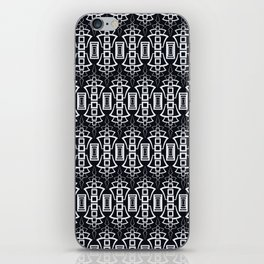 """Art Deco . """"Grey and gray . """" iPhone Skin"""