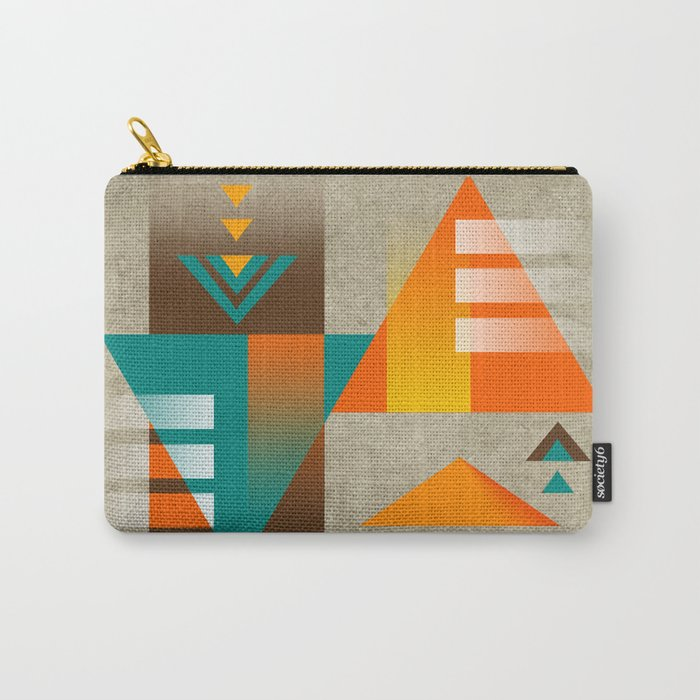SUMMIT | orange Carry-All Pouch
